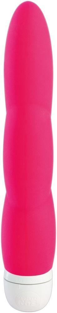Розовый вибратор JAZZIE - 17,8 см.