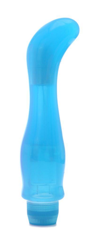 Голубой вибростимулятор Perfect G Vibe