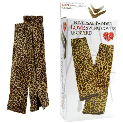Леопардовые чехлы для эротических качелей