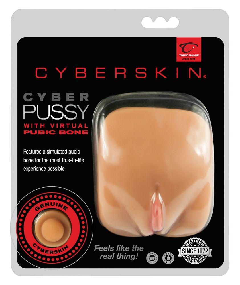 Мастурбатор-вагина CyberSkin Pussy with Virtual Pubic Bone Light