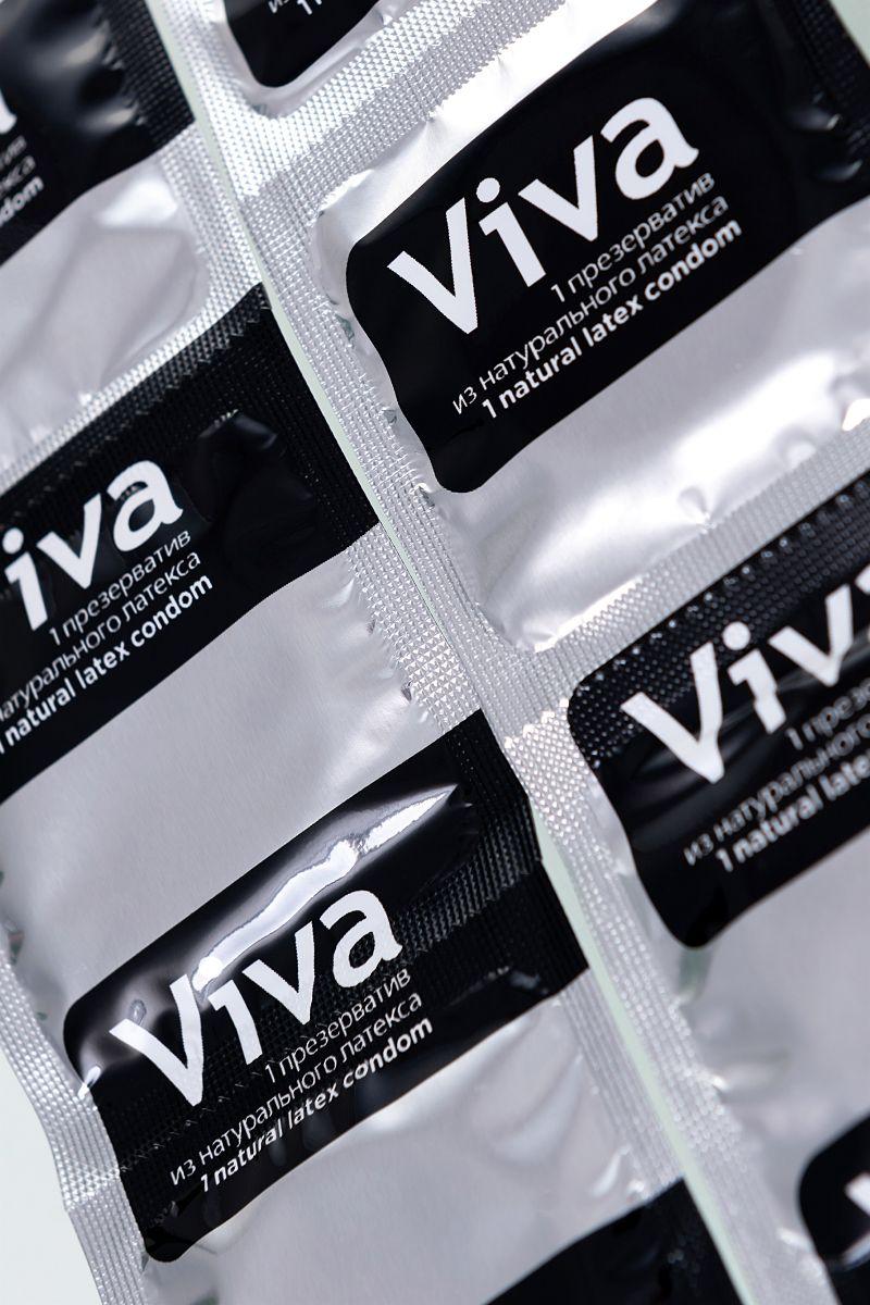 Ультратонкие презервативы VIVA Ultra Thin - 3 шт.