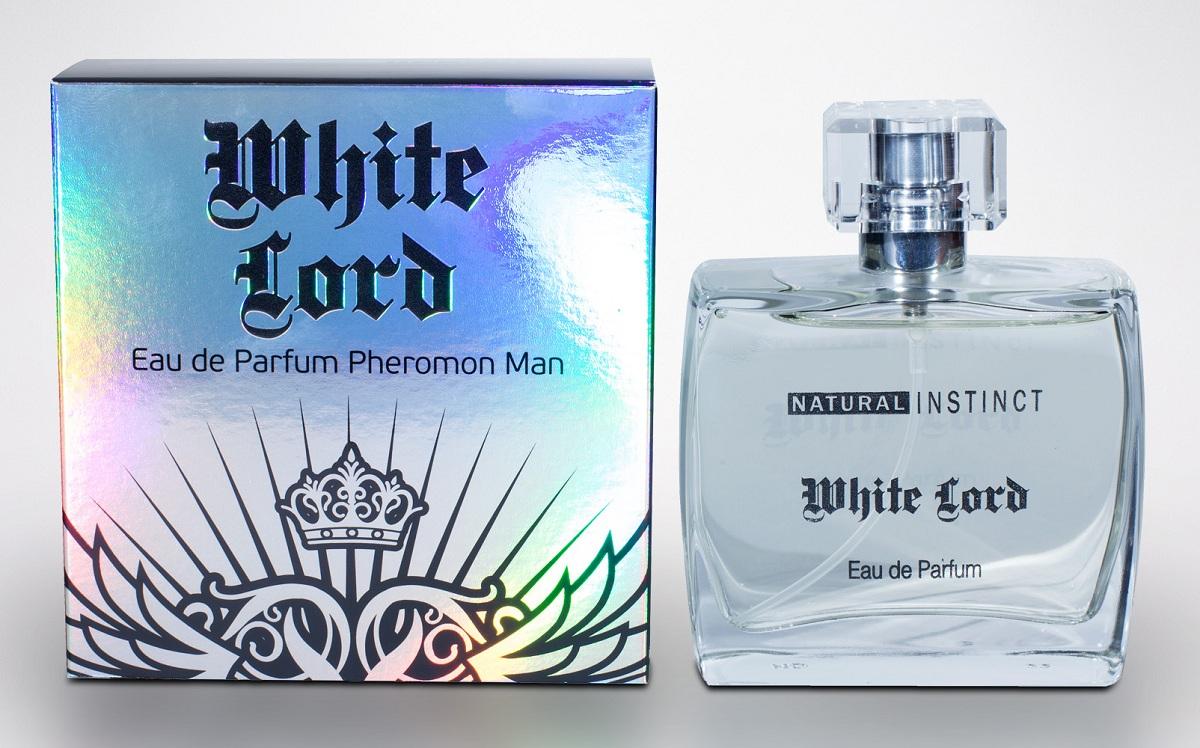 Мужская парфюмерная вода с феромонами Natural Instinct White Lord - 100 мл.