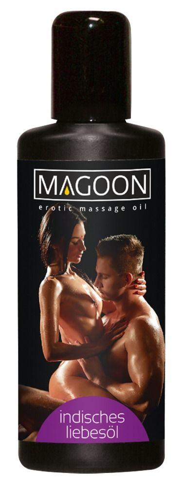 Возбуждающее массажное масло Magoon Indian Love - 200 мл.