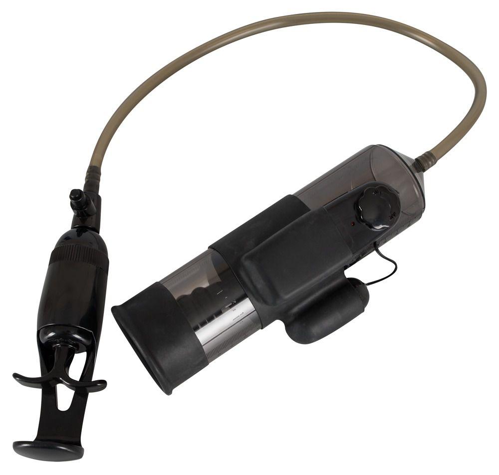 Помпа для пениса с вибропулей Vibrating Man Pump
