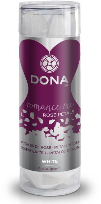 Декоративные белые лепестки роз DONA Rose Petals