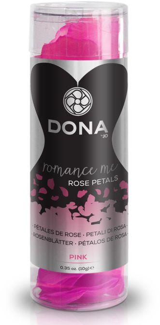 Декоративные розовые лепестки роз DONA Rose Petals