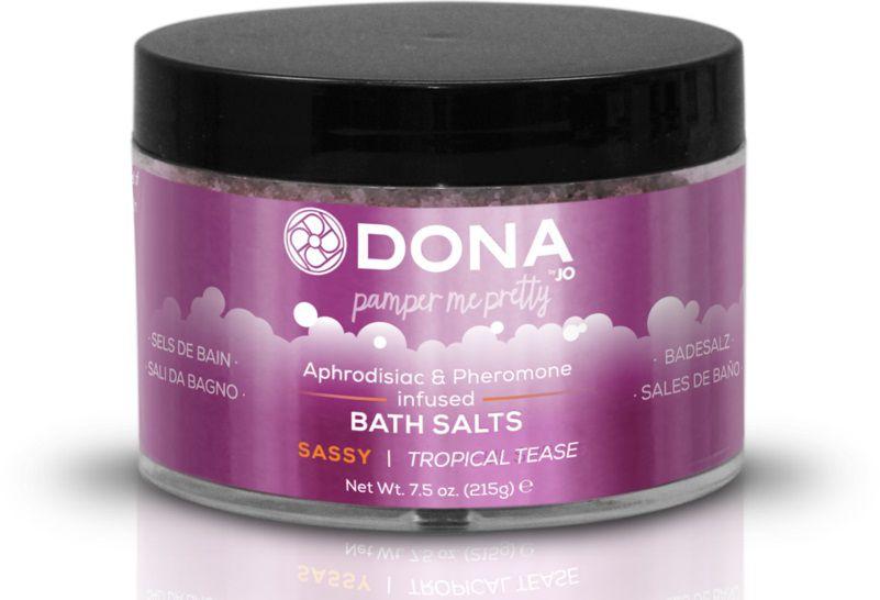Соль для ванны DONA Sassy Tropical Tease - 215 гр.