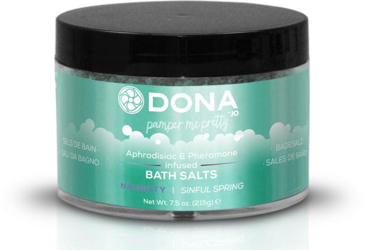 Соль для ванны DONA Naughty Sinful Spring - 215 гр.