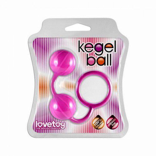 Розовые вагинальные шарики с колечком для извлечения
