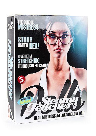 Кукла-учительница для секса Steamy Teacher
