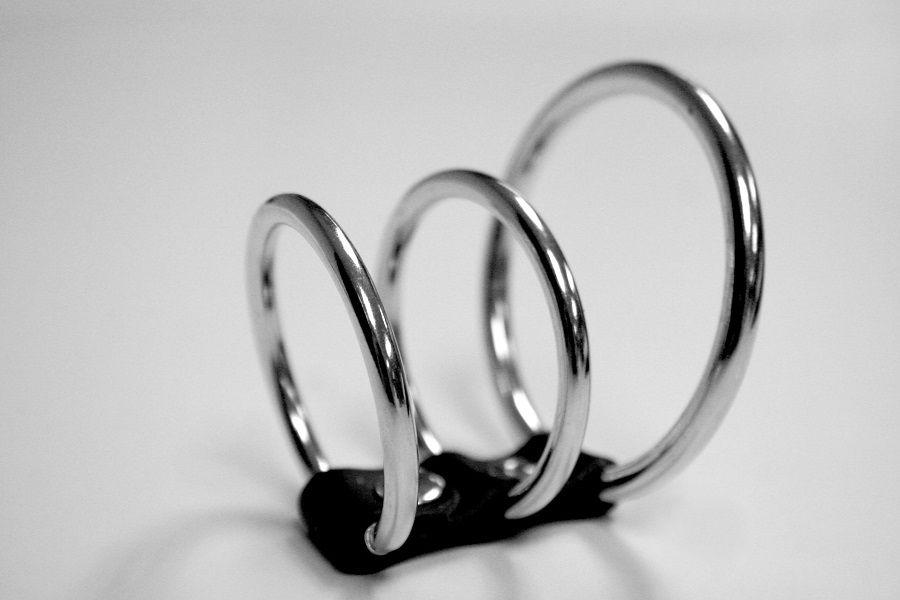 3 эрекционных кольца Ring Cock Cage