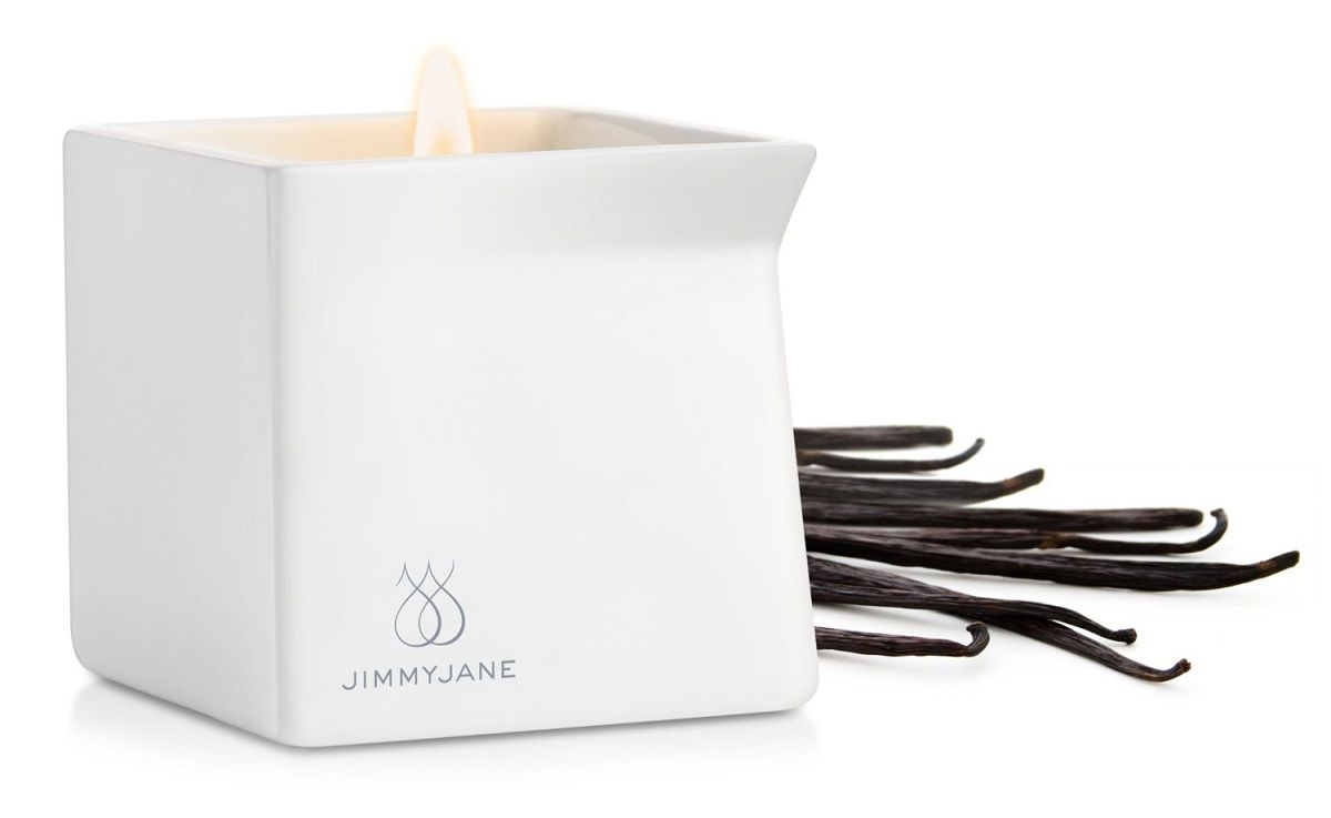 Массажная свеча JimmyJane Afterglow Massage Candle с ароматом ванили