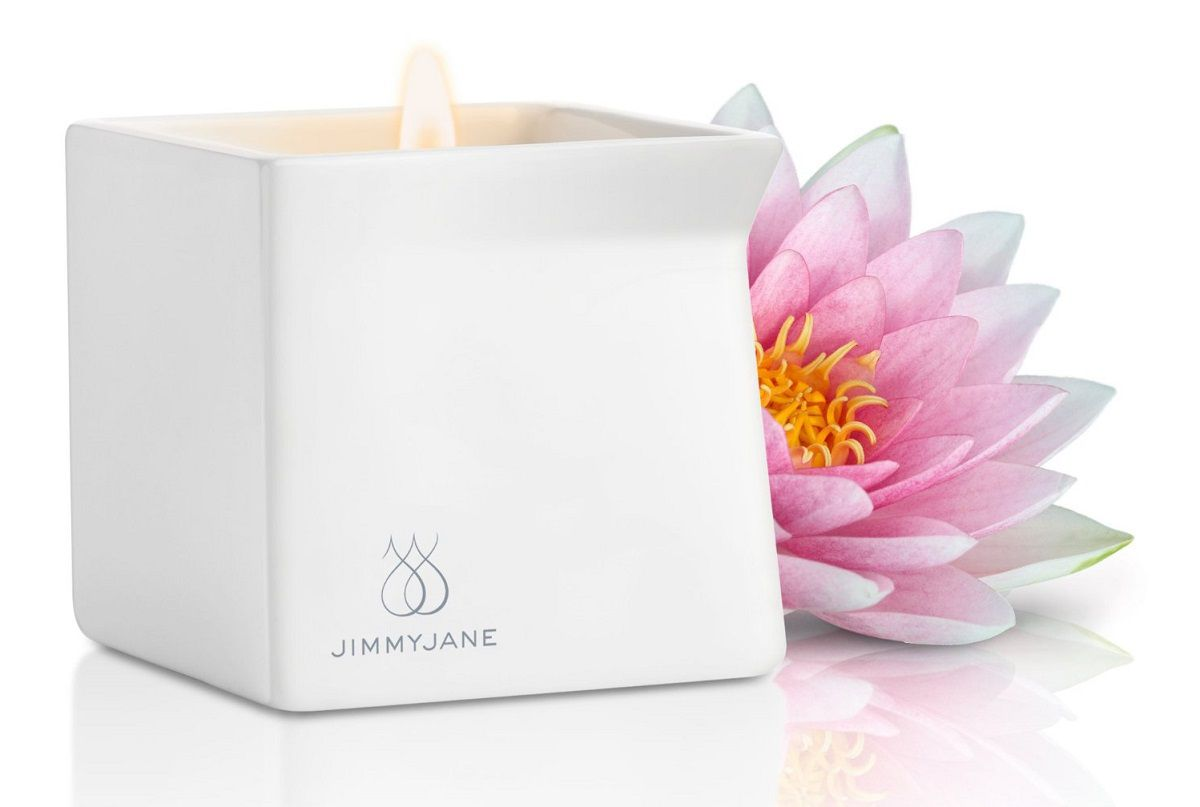 Массажная свеча JimmyJane Afterglow Massage Candle с ароматом лотоса
