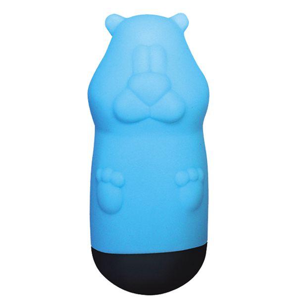 Голубой вибростимулятор Beat Up Vibes