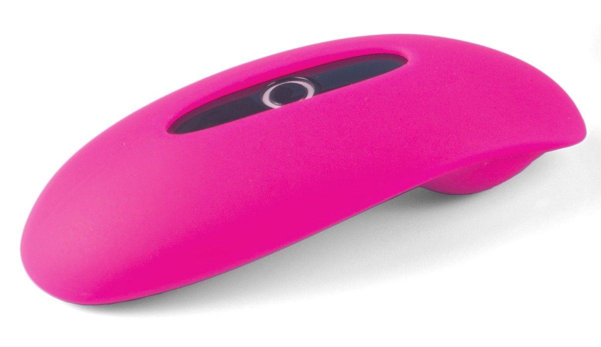 Розовый клиторальный smart-стимулятор MAGIC MOTION CANDY