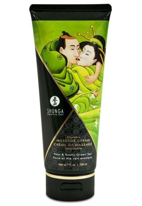 Массажный крем для тела с ароматом груши и зелёного чая Pear   Exotic Green Tea - 200 мл.