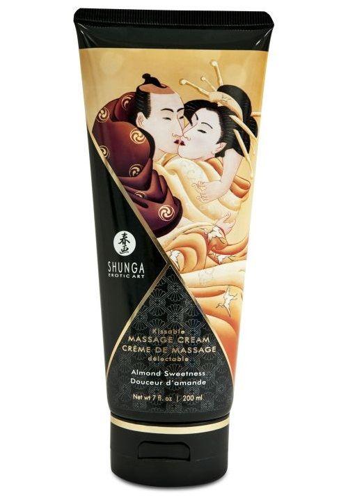 Массажный крем для тела с ароматом миндаля Almond Sweetness - 200 мл.