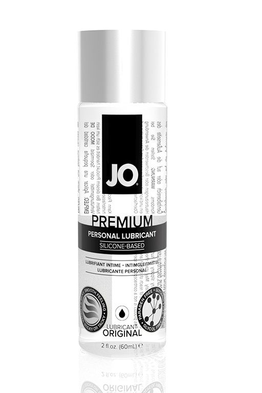 Нейтральный лубрикант на силиконовой основе JO Personal Premium Lubricant - 60 мл.