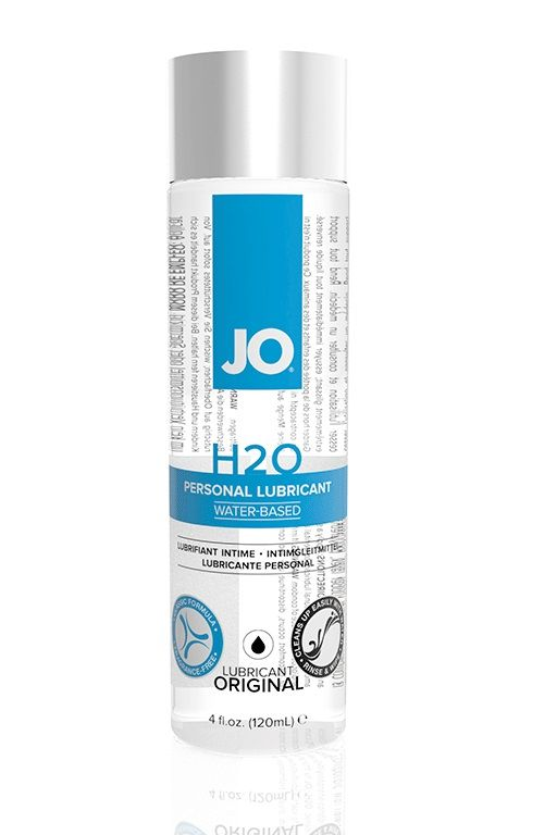 Нейтральный лубрикант на водной основе JO Personal Lubricant H2O - 120 мл.