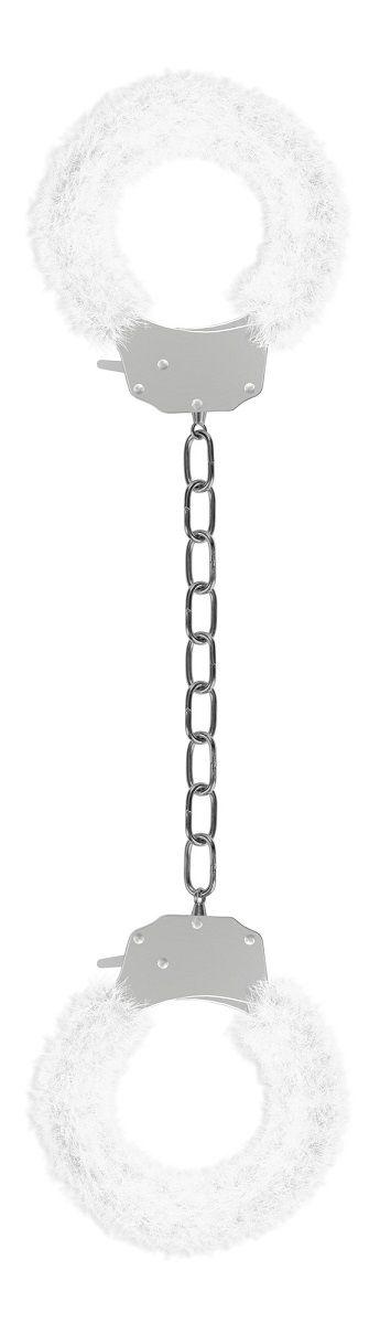 Белые кандалы Pleasure Legcuffs White
