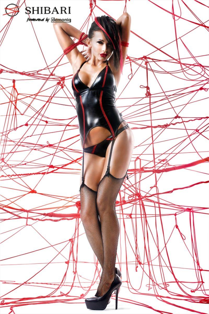 Корсаж Emi с веревками для связывания - фото 148770