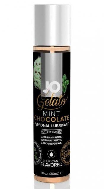 Лубрикант с ароматом мятного шоколада JO GELATO MINT CHOCOLATE - 30 мл.