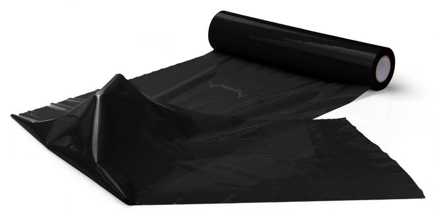 Чёрная широкая лента для тела Body Bondage Tape - 20 м. OUBT004BLK от Shots Media BV