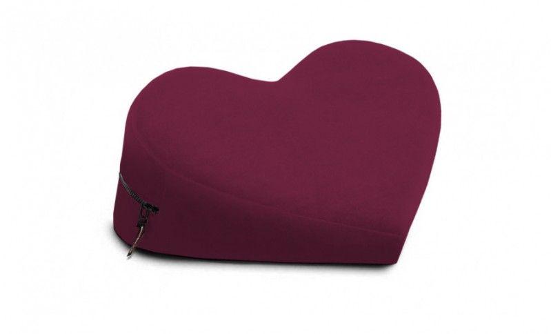 Вишнёвая подушка-сердце для любви Liberator SE Retail Heart Wedge