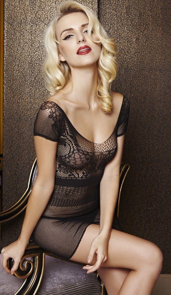 Ажурное мини-платье Dolce Piccante