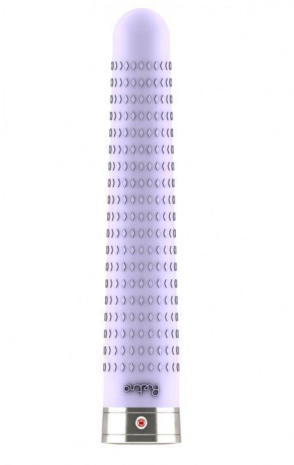 Фиолетовый вибратор в стиле ретро Joplin - 17 см.