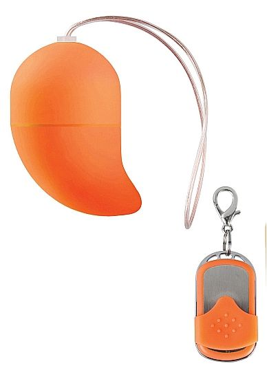 Оранжевое виброяйцо G-spot Egg Small