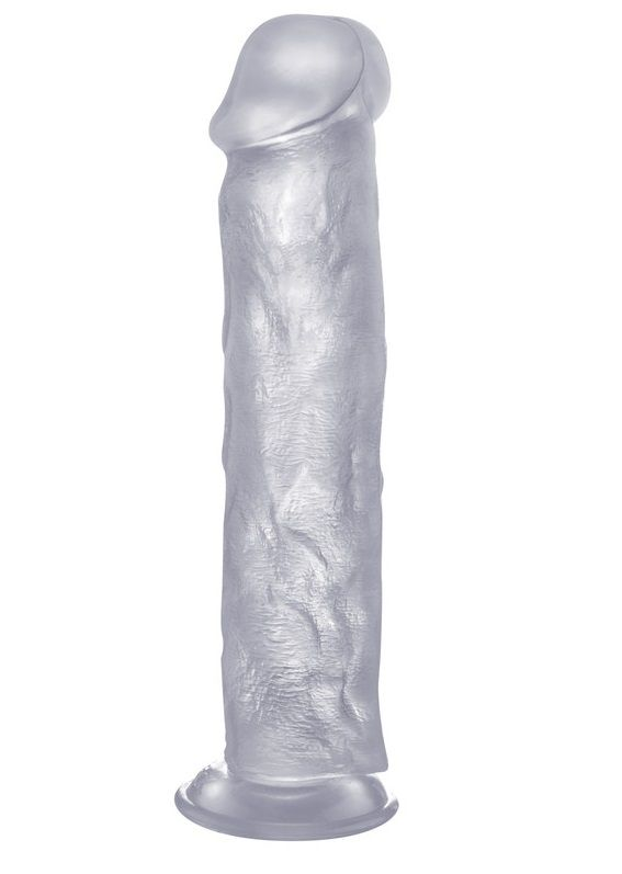 Прозрачный фаллоимитатор Realistic Cock 11