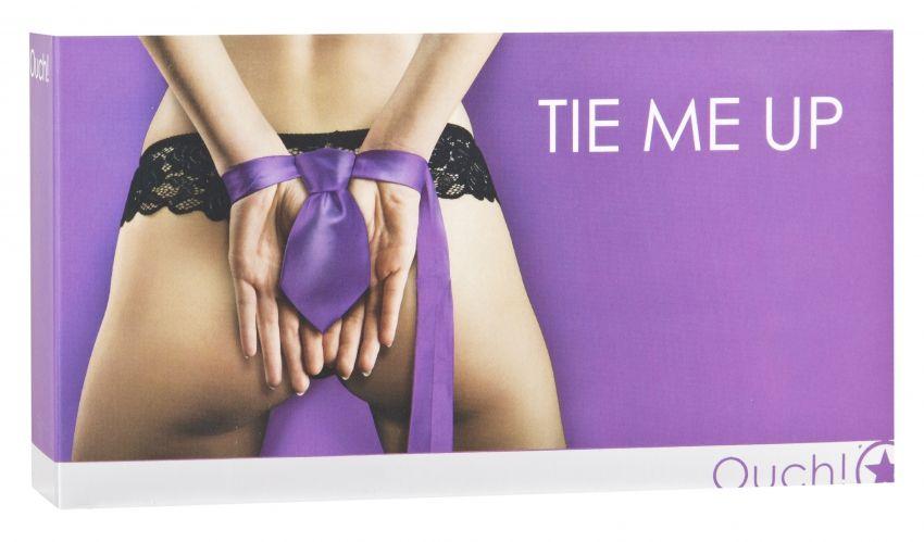 Фиолетовая лента-галстук для бандажа Tie Me Up