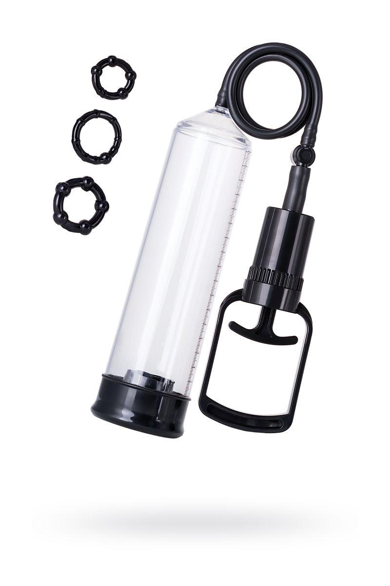Вакуумная помпа A-toys с уплотнителем и эрекционными кольцами 769007 от A-toys