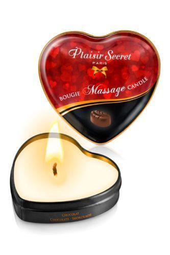 Массажная свеча с ароматом шоколада Bougie Massage Candle - 35 мл.