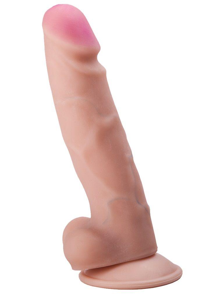 Фаллоимитатор REAL Standard из неоскин - 14 см.