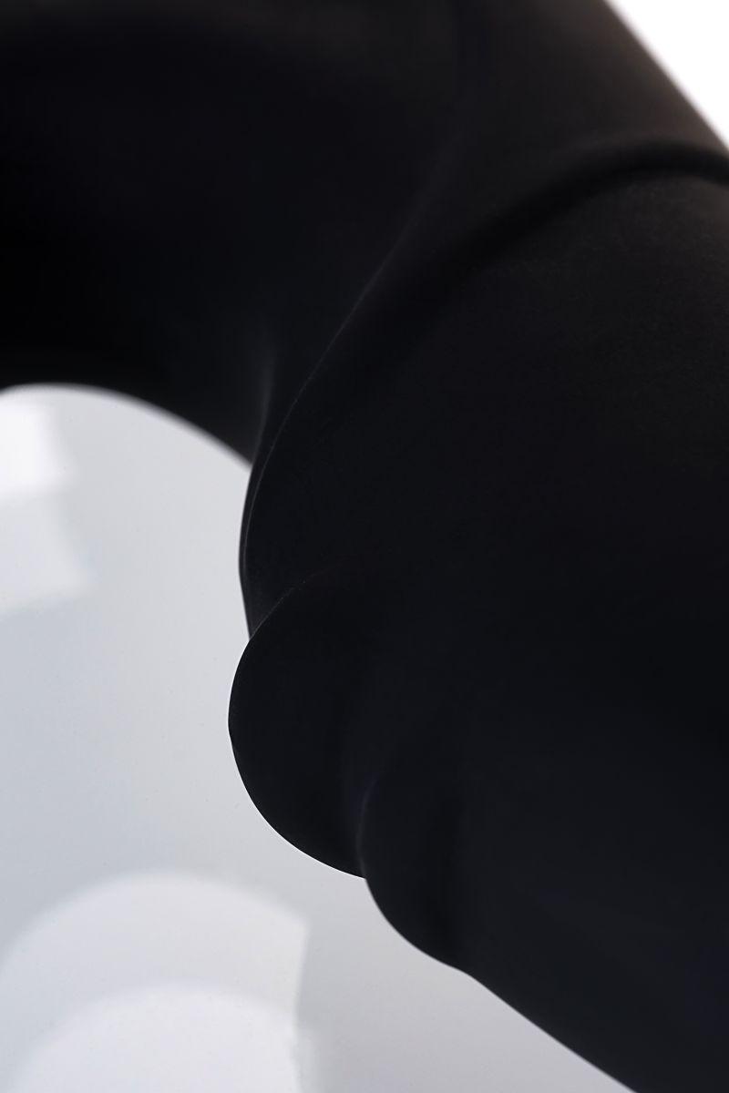 Чёрный вибростимулятор простаты Erotist - фото 165594