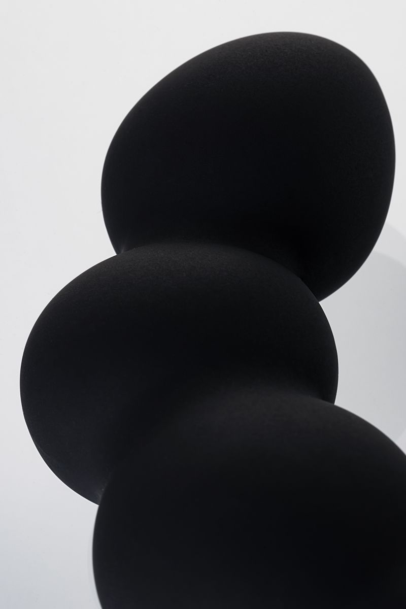 Чёрный вибростимулятор простаты Erotist - фото 165595