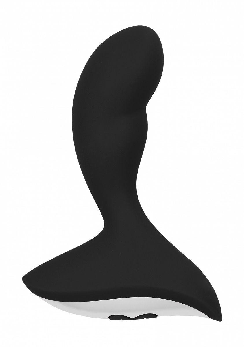 Чёрный анальный вибростимулятор Geron Anal Vibrator