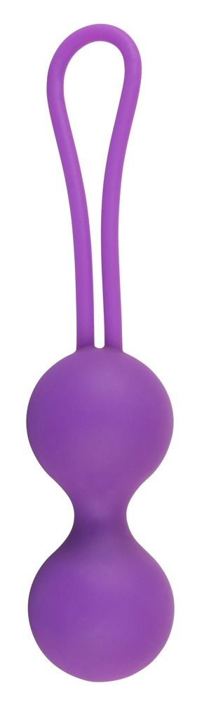 Фиолетовые вагинальные шарики Smile