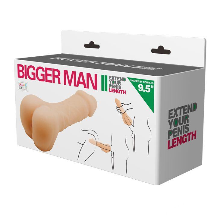 Мастурбатор-насадка Bigger man