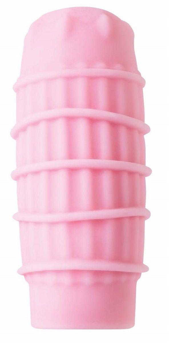 Набор из 6 розовых мастурбаторов Hedy - фото 173619