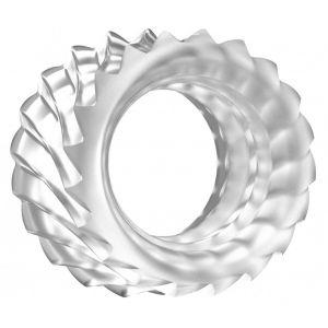 Прозрачное эрекционное кольцо No.40 Ball Strap