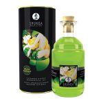 Возбуждающее массажное масло с ароматом зеленого чая - 100 мл.