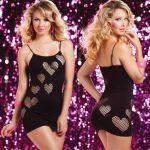 Бесшовное платье сердцеедки
