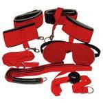 Ярко-красный набор для страстных игр