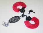Металлические наручники в комплекте с ключами #1863