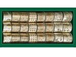 Лента для декорирования кремово-золотая с узором, #5607