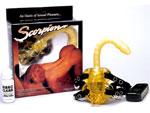 Мощный вибростимулятор Скорпион #590