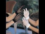 Короткие сетевые перчатки #9383